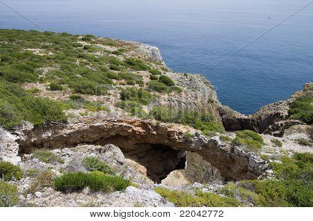 Natural Arch Stone Bridge