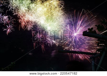 Amazing fireworks, fireworks 2018, fireworks background, fireworks event, Fireworks Festival, firework, fireworks isolated, fireworks night, beautiful, colorful. Celebration symbol.