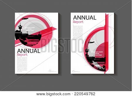 pink layout  abstract and green background modern cover design modern book cover Brochure cover  template,annual report, magazine and flyer Vector a4