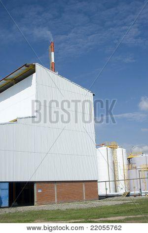 Modern Manufacturing Plant
