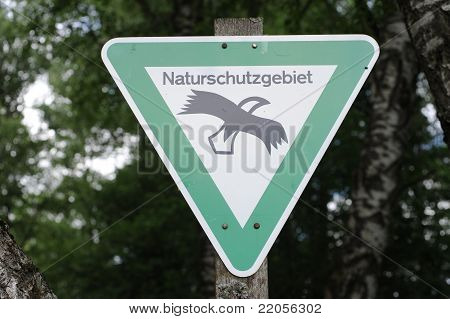Traffic Sign Protected Landscape