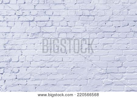 Newly -whitewashed brick wall as textured background.