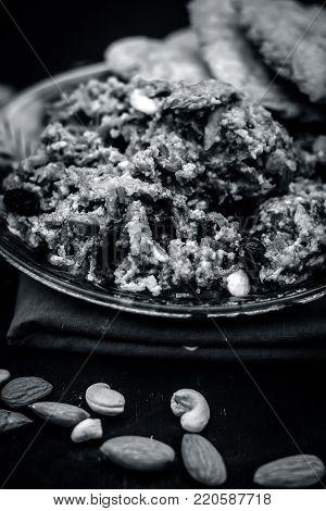 Halwa Of  Lagenaria Siceraria,bottle Guard[dudhi Ka Halwa] An Indian Sweet Dessert Served Before Or