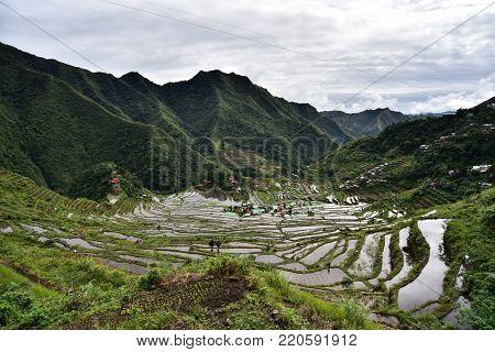 Rice Terraces UNESCO heritage - Batad, Philippines