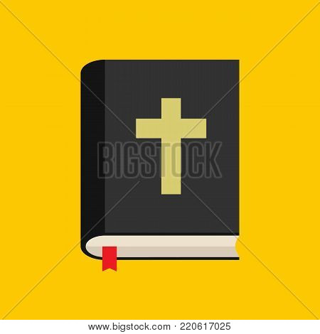 Bible icon. Holy bible book. Vectot stock.