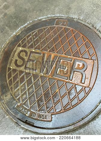 Industrial Wet Sewer Street Drain Cover