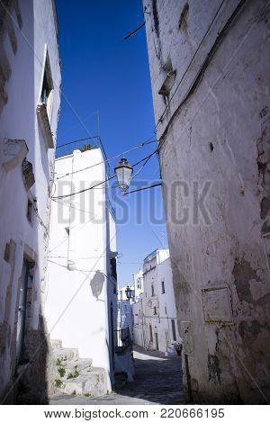 The White Roads Of Ostuni