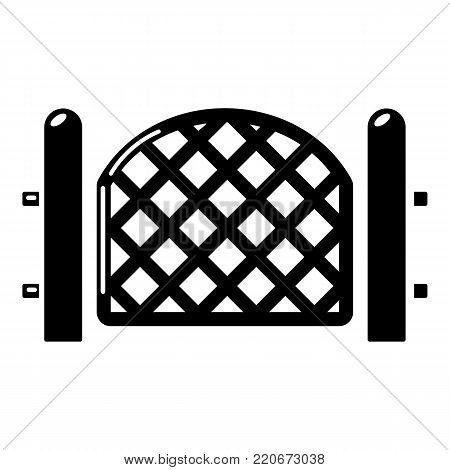 Barrier icon. Simple illustration of barrier vector icon for web