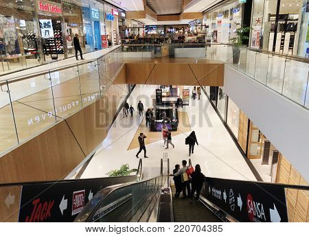 RISHON LE ZION, ISRAEL- DECEMBER 17, 2017: Inside the Department Store in Rishon Le Zion, Israel