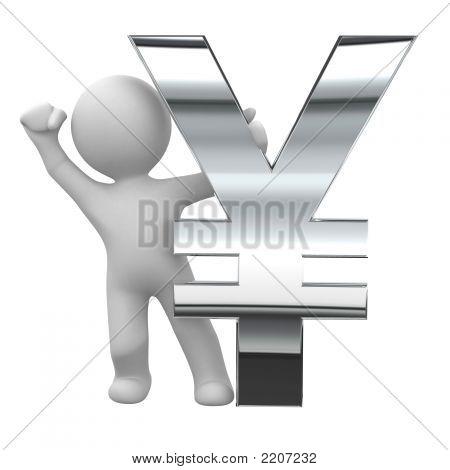 Yen Chrome Symbol