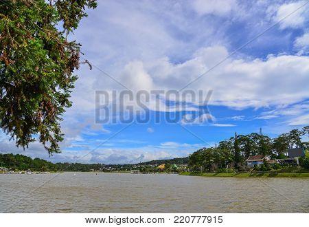 Lake Xuan Huong In Dalat, Vietnam