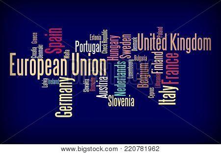European Union Word Cloud