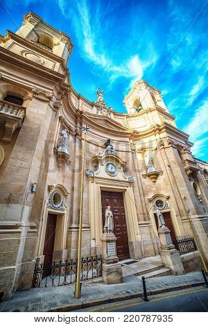 Valletta, Malta: Basilica of St Dominic, also known as Basilica of Our Lady of Fair Havens and St Dominic