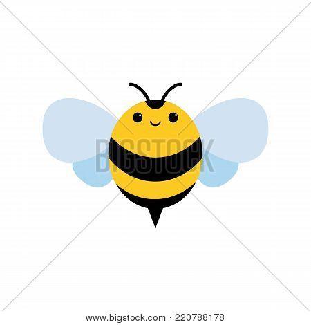 honey and Bee icon, honey vector, bee illustration