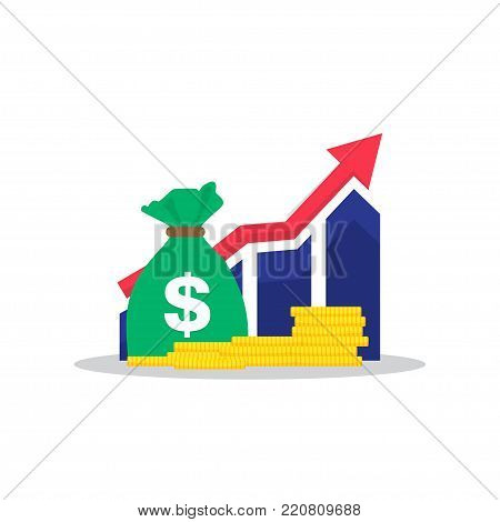 Income increase, financial strategy, high return on investment, budget balance, fund raising, long term increment, revenue growth.