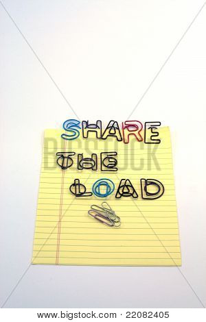 Share the load in color