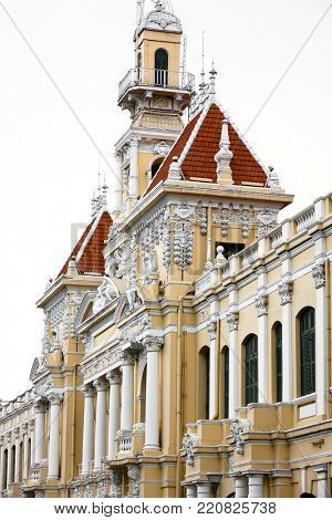 Saigon Towm Hall (Peoples Committee Building)