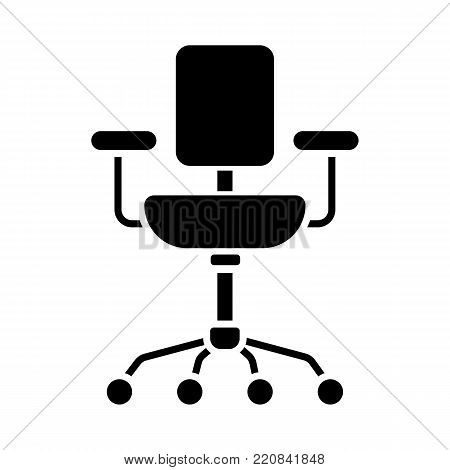 chair line icon. Vector isolated on white background. Eps 10