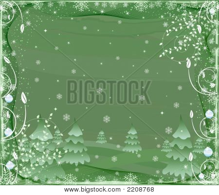 Abstract  Artistic Winter Background