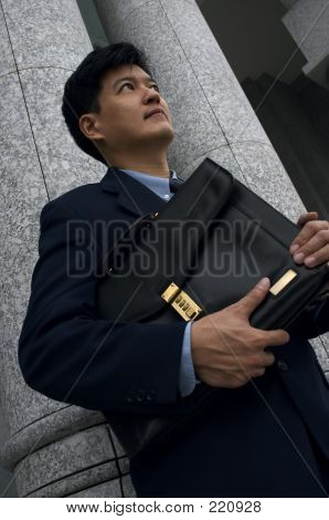 Businessman/lawyer With A Briefcase