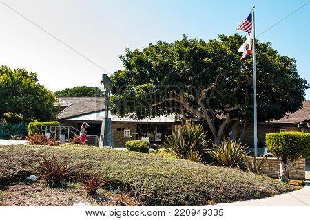 Rancho Palos Verdes, California - September 9, 2017:  The Point Vicente Interpretive Center, An Idea