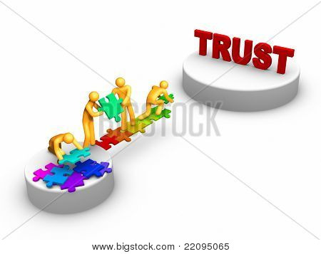 Team Work For Trust