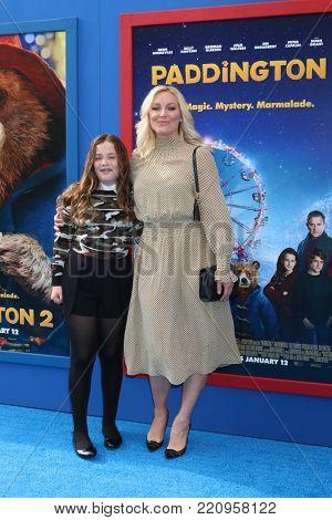 LOS ANGELES - JAN 6:  Elisabeth Rohm, daughter at the