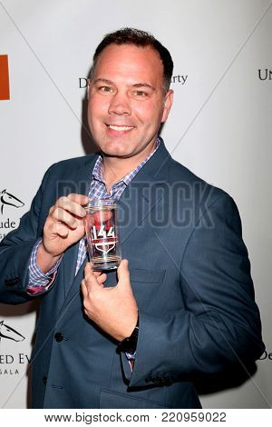LOS ANGELES - JAN 5:  Kevin Harned, Official Kentucky Derby Glass at the Unbridled Eve Derby Prelude Party Los Angeles at the Avalon on January 5, 2018 in Los Angeles, CA