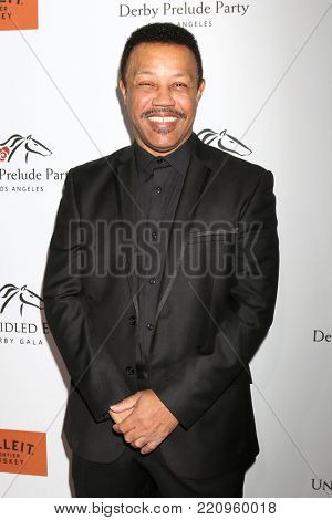 LOS ANGELES - JAN 5:  Reggie Calloway at the Unbridled Eve Derby Prelude Party Los Angeles at the Avalon on January 5, 2018 in Los Angeles, CA