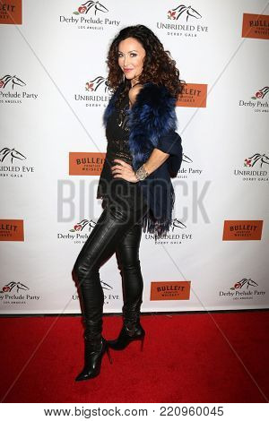 LOS ANGELES - JAN 5:  Sofia Milos at the Unbridled Eve Derby Prelude Party Los Angeles at the Avalon on January 5, 2018 in Los Angeles, CA