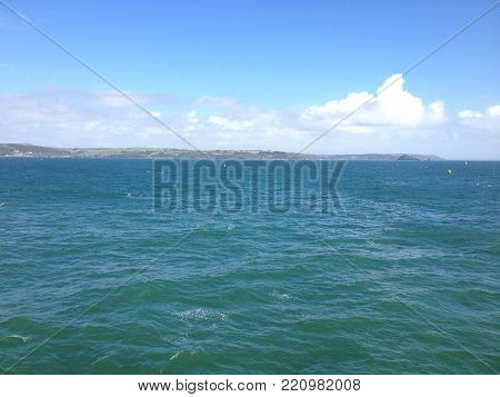 A view of the Plymouth Sound on the English Coast