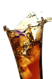 Glass With Cola