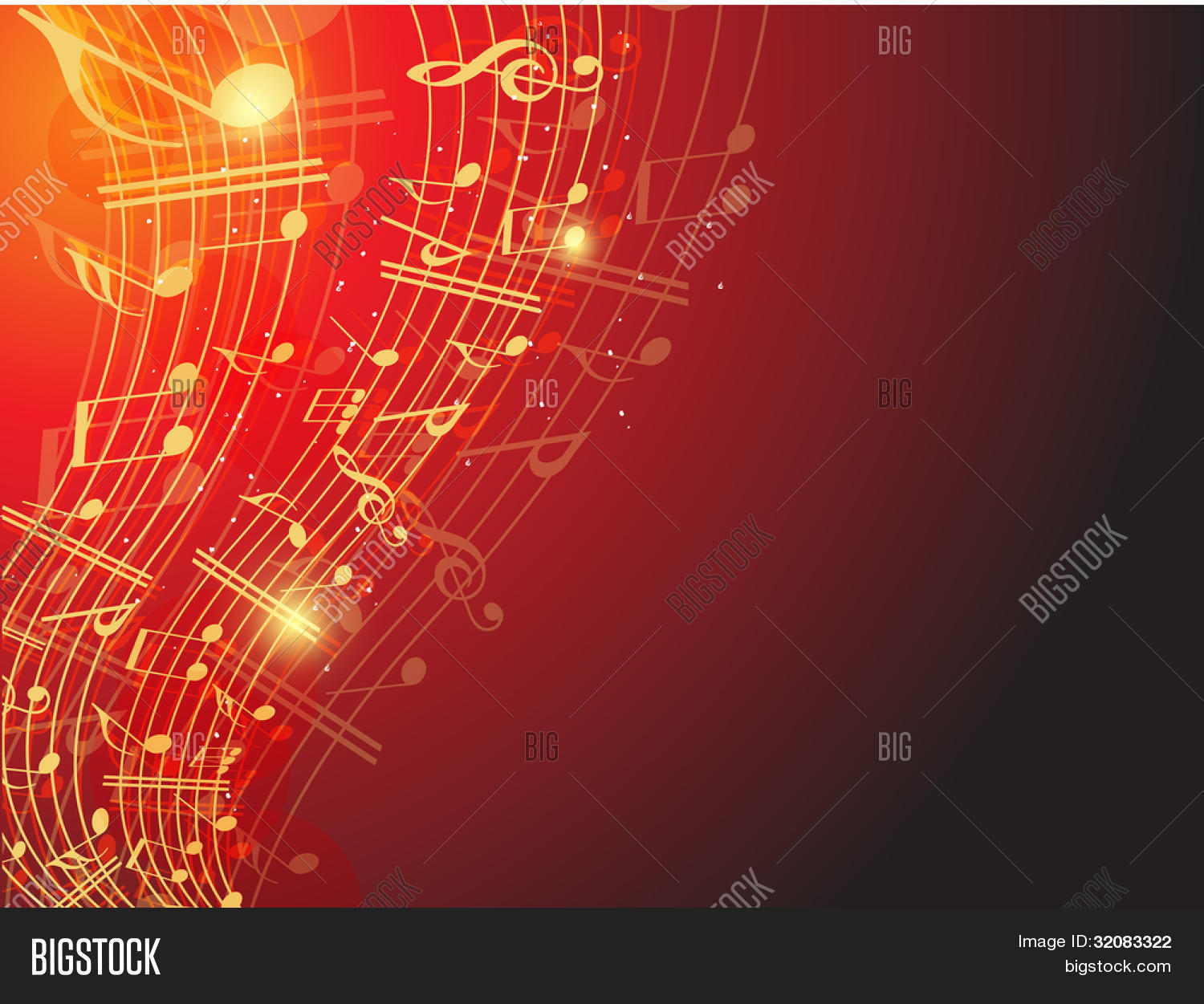musical wave background shiny vector   photo bigstock Music Note Clip Art Musical Note Vectors Purple