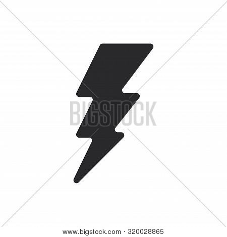 Electric Energy Icon Isolated On White Background. Electric Energy Icon In Trendy Design Style For W
