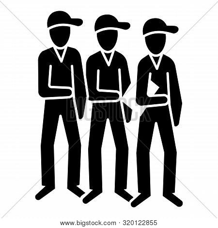 Brotherhood People Icon. Simple Illustration Of Brotherhood People Vector Icon For Web Design Isolat