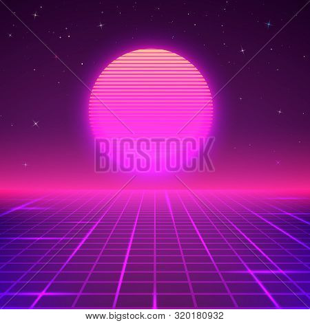80s Style Background Vector Photo Free Trial Bigstock