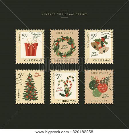 Christmas Stamp Collection 3