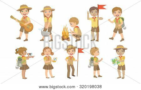 Scout Girl Stock Illustrations – 2,144 Scout Girl Stock Illustrations,  Vectors & Clipart - Dreamstime