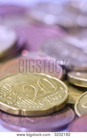 Euro Coins.