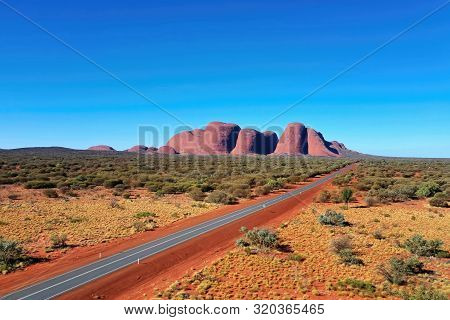 Central Australia The Olgas In Southern Part Of Northern Territory,taken With A Drone On The 30/5/20