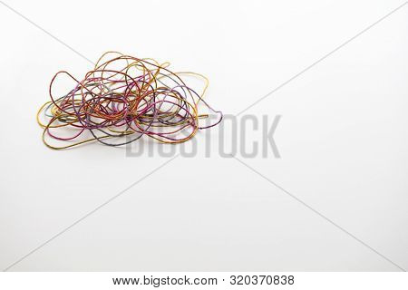 Tangled Mess Image Photo Free Trial Bigstock