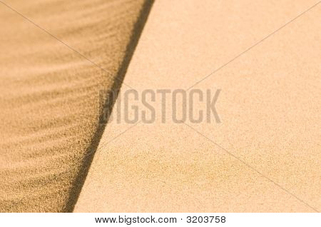 highly detailed texture of beautiful sand dunes poster