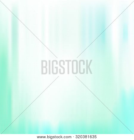 Turquoise White Halftone Background With Staines. Vector Modern Background For Posters, Brochures, S