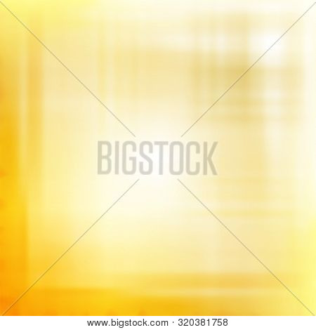Yellow Blurred Background. Vector Modern Background For Posters, Brochures, Sites, Web, Cards, Inter
