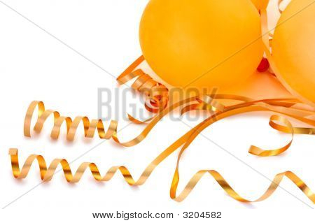 Orange Balloons.