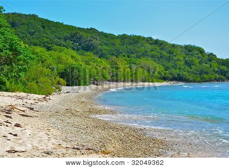Beach on Peter Island, BVI