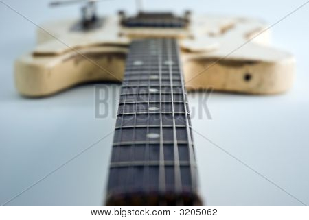 Heavily Used Guitar.