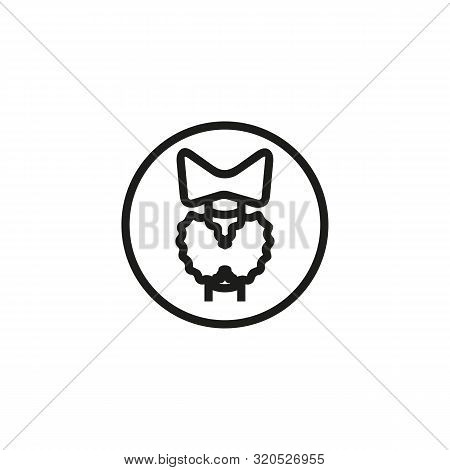 Bone Marrow Line Icon. Medicine, Body, Nature. Human Organs Concept. Vector Illustration Can Be Used