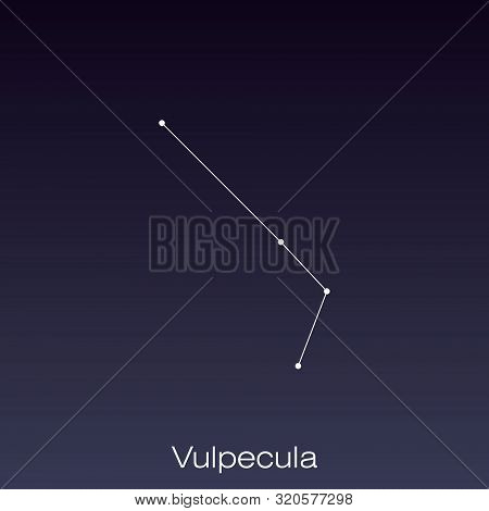 Vulpecula Constellation As It Can Be Seen By The Naked Eye.
