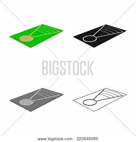 Vector Illustration Of Throwing And Ground Icon. Set Of Throwing And Throwing Stock Symbol For Web.